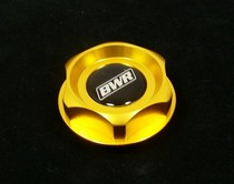 All Acura, All Honda, All Nissan Blackworks Racing Oil Cap (Gold)