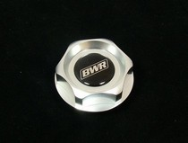All Acura, All Honda, All Nissan Blackworks Racing Oil Cap (Silver)