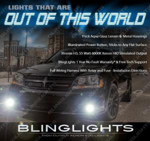 Spyder Fog Lights Fits Dodge Avenger 2011-2014