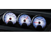 2005-2006 Lotus Elise Blitz Gauges - 60mm Racing Meter DC2 Boost Meter (2.0 bar) (White)