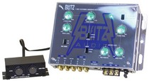 1968-1984 Saab 99 Blitz Audio 2-Way Electronic Crossover Network with Subwoofer Level Control