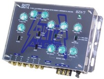 1998-2000 Mercury Mystique Blitz Audio 3-Way Electronic Crossover Network with Subwoofer Level Control