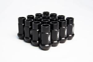 1993-1997 Mazda 626 Blox Racing Street Series Forged Lug Nut - 12 x 1.5mm (Black)