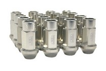 1991-1996 Saturn Sc Blox Racing Street Series Forged Lug Nuts - 12 x 1.5mm (Silver)