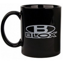 1960-1964 Ford Galaxie Blox Racing Coffee Cup (Black)