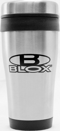 1960-1964 Ford Galaxie Blox Racing Stainless Steel Coffee Travel Mug (Black Logo)