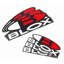 1994-1997 Ford Thunderbird Blox Racing Printed Die Cut Decal (Medium)