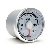 1998-2002 Isuzu Trooper Blox Racing 52mm Voltage Gauge