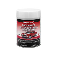 1967-1969 Chevrolet Camaro Bondo Lightweight Filler, 1 Gallon (US) - 4 Per Case