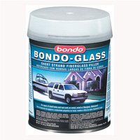 1991-1993 GMC Sonoma Bondo Glass Fiberglass Reinforced Filler, Quart (US) Can - 12 Per Case