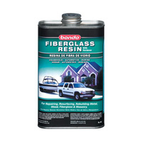 2000-2006 Mercedes Cl-class Bondo Fiberglass Resin, Quart (US) Can - 6 Per Case