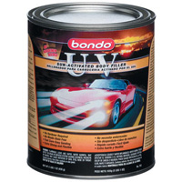 1967-1969 Chevrolet Camaro Bondo UV Filler, Quart (US) Can - 12 Per Case