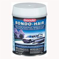 2000-2006 Mercedes Cl-class Bondo Bondo-Hair Long Strand Fiberglass Reinforced Filler, Quart (US) Can - 12 Per Case