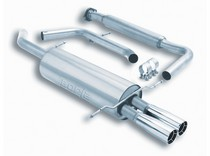93-94 Ford Probe GT, 93-94 Mazda MX-6 2.5L V6 2DR Borla Exhaust Systems - Stainless Steel