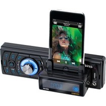 2001-2003 Honda Civic Boss Bluetooth-Enabled In-Dash Digital Media Receiver With Built-In IPod Docking Station