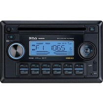 2001-2003 Honda Civic Boss MP3-Compatible In-Dash Cd Receiver With USB And SD Memory Card Ports And Front Panel Aux Input
