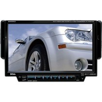 "1998-9999 Ford Contour Boss Single Din In-Dash DVD/MP3/Cd AM/FM Receiver With 7"" Widescreen Touchscreen TFT Monitor"