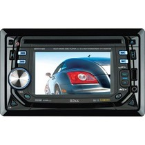 "1998-9999 Ford Contour Boss In-Dash Double-Din DVD/MP3/Cd/AM/FM Receiver With 4.5"" Widescreen Touchscreen TFT Monitor"