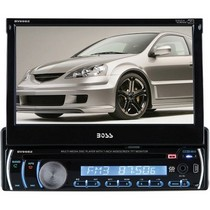 "2008-9999 Smart Fortwo Boss In-Dash 7"" LCD Touchscreen DVD, MP3, Cd Stereo With Built-In Bluetooth, Aux-In And Mini-USB Port"