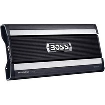 2007-9999 Saturn Aura Boss 4-Channel MOSFET Bridgeable Power Amplifier With Remote Subwoofer Level Control