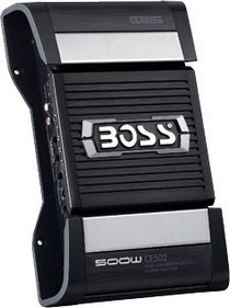 1969-1972 Chevrolet Townsman Boss 2-Channel MOSFET Bridgeable Power Amplifier With Remote Subwoofer Level Control