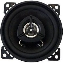 2007-9999 Saturn Aura Boss 2-Way 4-Inch Black Poly Injection Cone Speaker