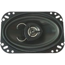 2007-9999 Saturn Aura Boss 2-Way 4-Inch X 6-Inch Black Poly Injection Cone Speaker