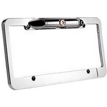 1961-1977 Alpine A110 Boyo Vision Universal License Plate Frame with High Resolution Camera Built-In
