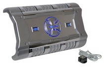 1979-1983 Ford Mustang Brand-X 3380 Watt Mono Block Digital Amplifier with Digital Voltage/Amperage Display