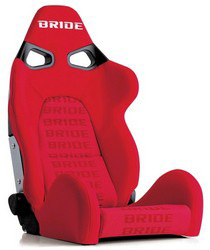 All Cars (Universal) Bride Cuga Red Logo Reclining Seat
