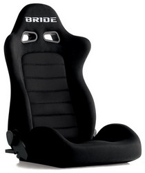 2001-2003 Honda Civic Bride Euro II Black Reclining Seat
