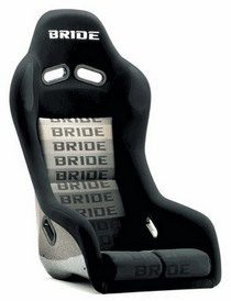 2001-2003 Honda Civic Bride Exas III Gradation Full Bucket Seat (Carbon Fiber Reinforced Plastic)