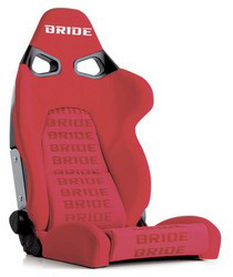 All Cars (Universal) Bride Vorga Red Logo Reclining Seat