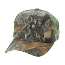 1997-2004 Chevrolet Corvette New Break Up® Camo 3-D Buckmark Cap - Browning Mossy Oak