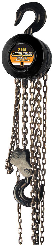 1987-1990 Mercury Capri Buffalo Tools 3 Ton Chain Hoist