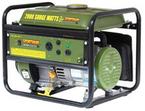 2001-2003 Honda Civic Buffalo Tools 2000 Watt Portable Generator