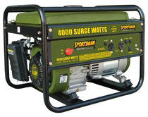 2004-2006 Chevrolet Colorado Buffalo Tools 4000 Watt Generator