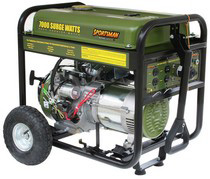 2005-9999 Mercury Mariner Buffalo Tools 7,000 W Generator