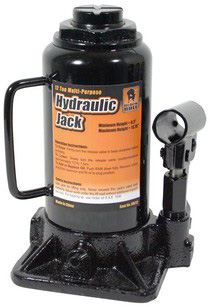 1974-1983 Mercedes 240D Buffalo Tools 12 Ton Hydraulic Bottle Jack