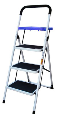 2003-2006 Mercedes Sl-class Buffalo Tools 3 Step Ladder With Paint Tray