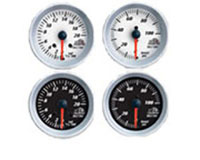 1998-2004 Chrysler Concorde Bully Dog Gauges - Boost Gauge (White Faced)