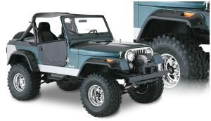 Jeep CJ Fender Flares at Andy's Auto Sport