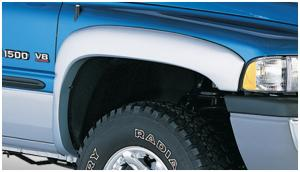 BLACK PAINTABLE Extension Fender Flares 94-01 RAM 1500 94-02 RAM 2500 RAM 3500