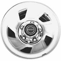 1987-1996 Ford F150 Capital Factory Wheel - 15x7-1/2, 5 lug, 5-1/2 bolt pattern 5 spoke, steel wheel