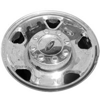 1999-2007 Ford F250 Capital Factory Wheel - 17x7-1/2, 8 lug, 170mm bolt pattern Chrome steel wheel