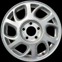 1998-2002 Oldsmobile Intrigue Capital Factory Wheel - 16x6-1/2, 6-Y spokes, 5-lug. Silver painted