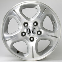 02 04 honda cr v capital factory wheel 15x6 5 spokes 5