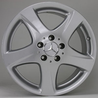 Mercedes s class rims at andys auto sport for Mercedes benz lug pattern