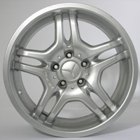 Mercedes clk class factory wheels at andys auto sport for Mercedes benz lug pattern