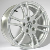 2005-2006 Acura Rsx Capital Factory Wheel - 16x6-1/2, 5 lug, 6-Double Spokes, 115mm Original Gray Finish
